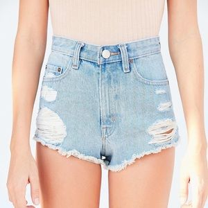 BDG Super High-Rise Cheeky Denim Shorts